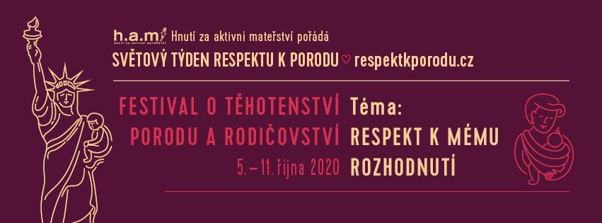 Světový týden respektu k porodu 2020